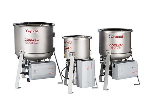 Cryo pumps, cold heads and compressors