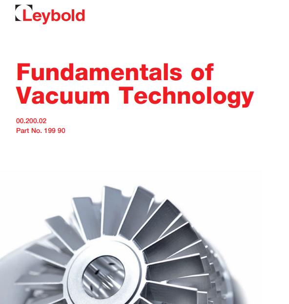 FUNDAMENTAL OF VACUUM TECHNOLOGY -2