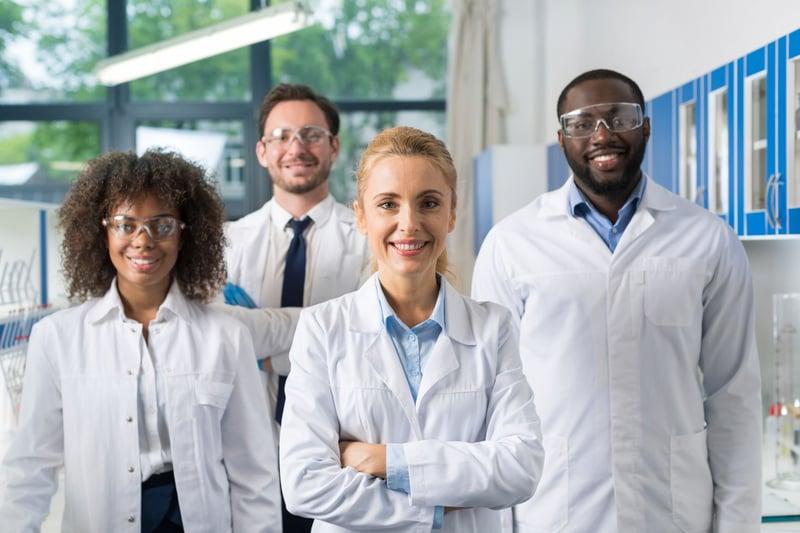 Lab team leybold