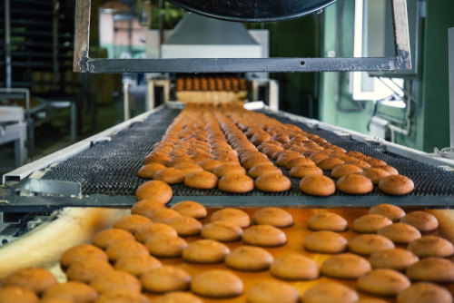 Oil contamination in food processing