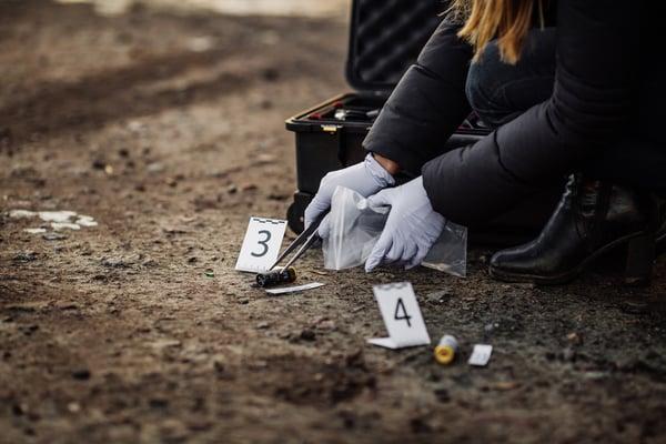 ballistics crime scene investigation