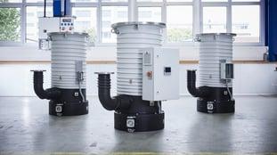 Oil-diffusion vacuum pumps